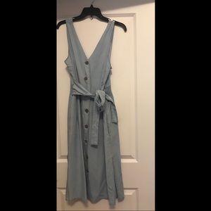 Jeans Wrap Dress